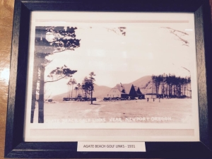 Agate Beach Golf Links- 1931